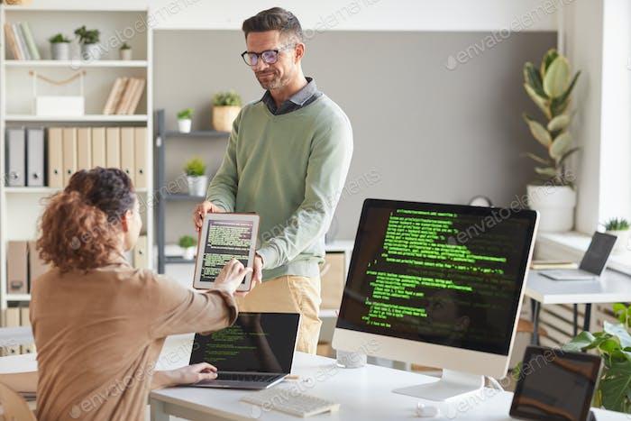 Trabajar con sistema informático