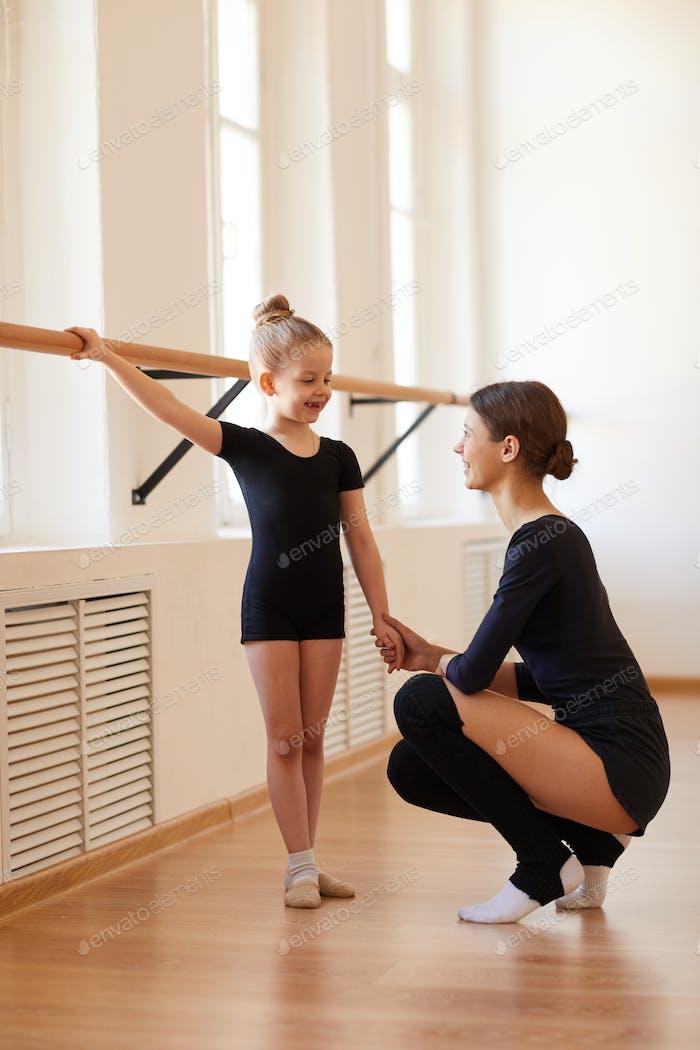 Little Ballerina at Practice