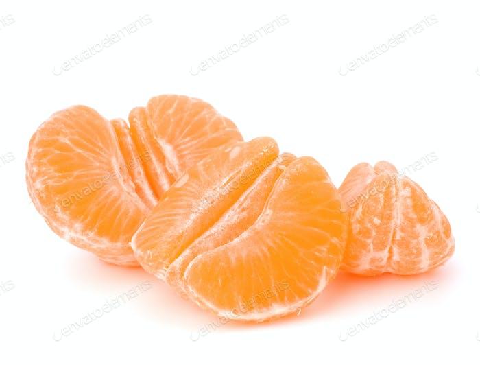 Orangenmandarine oder Mandarine Früchte