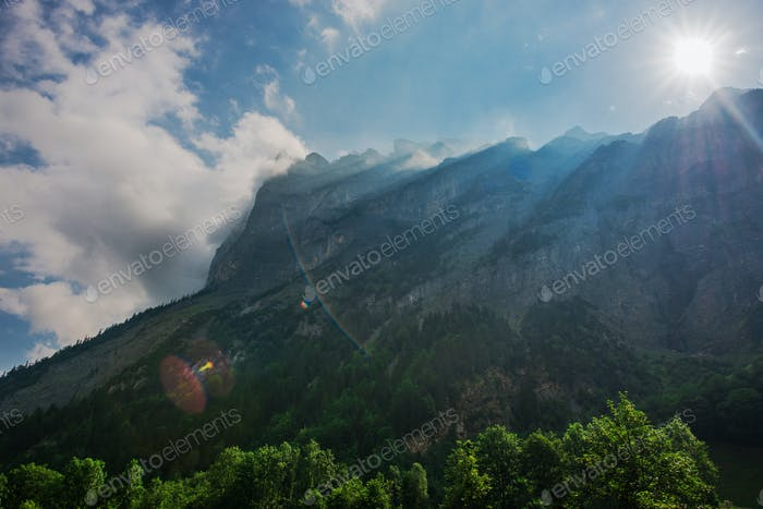 Scenic Jungfrau Region Berner Schweizer Alpen
