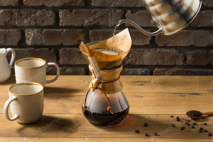 Homemade Pour Over Coffee