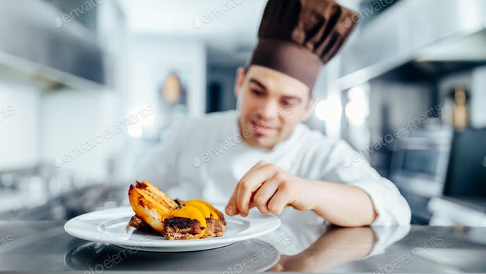 Chef needs to be precise