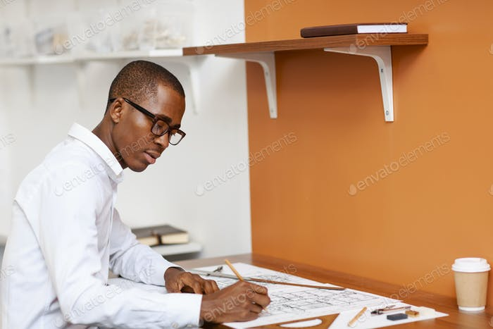 Drawing construction draft