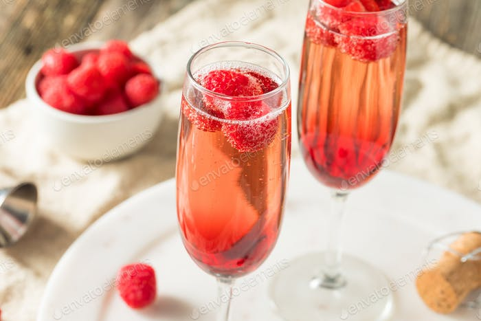 Refreshing Alcoholic Kir Royale