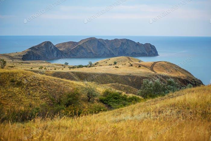 Beautiful crimea landscape
