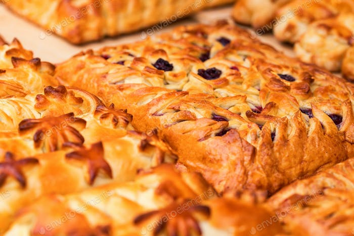 Coulibiac is traditional Russian pie