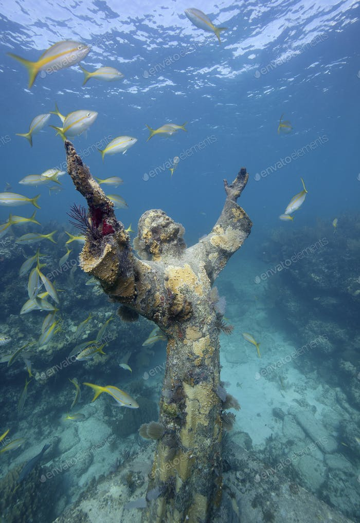 Statue of Christ of the Abyss, Key Largo,Statue of Christ of the Abyss, Key Largo