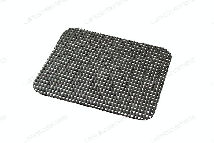 Black desktop non slip matt