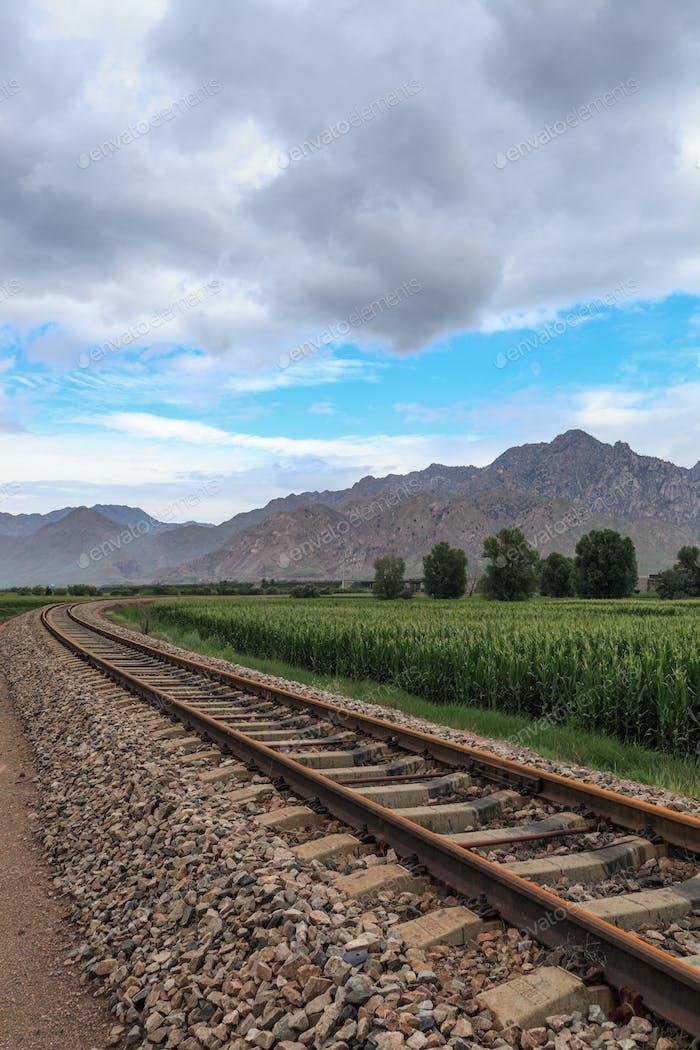 railway in mongolia