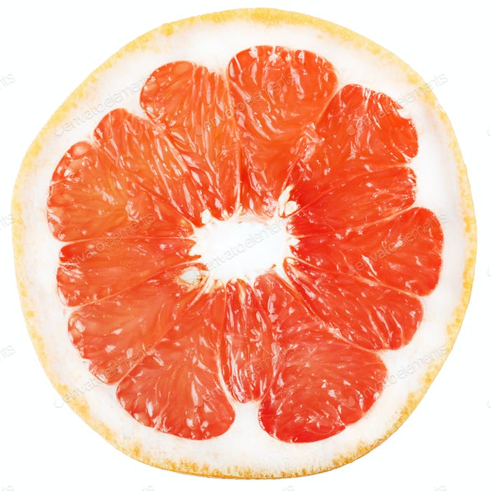 background with citrus fruit of grapefruit slices.
