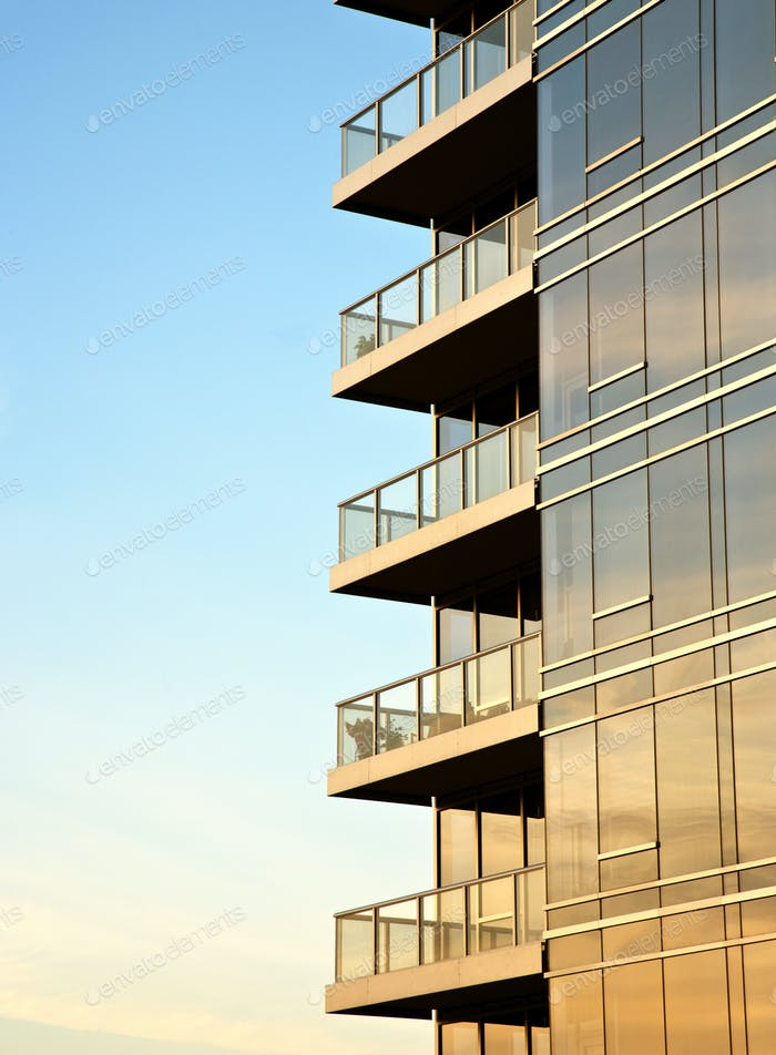 Balconies on Skyscraper