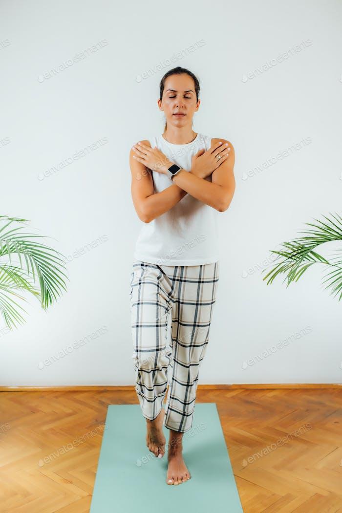 One Leg Stand Static Balance Test