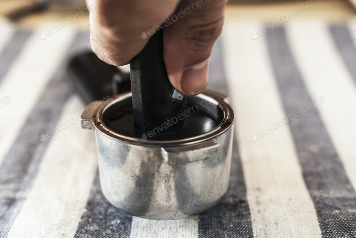 Pot With Coffee