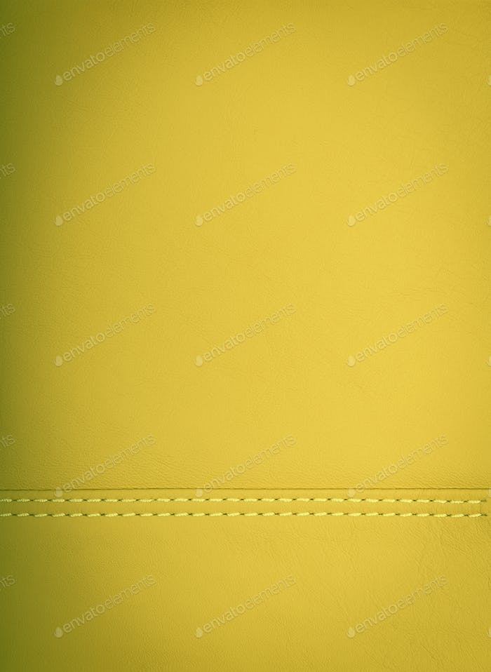 yellow colored leather natural background