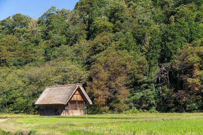 Old house in Shirakawago