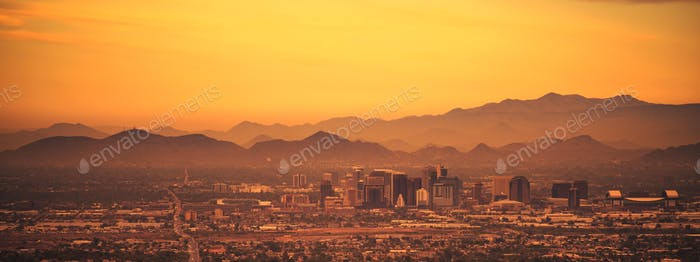 Phoenix Arizona Panoramic