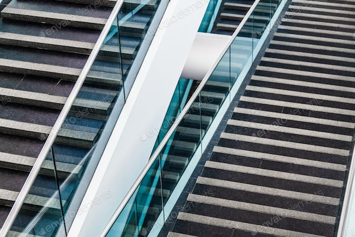 Modern Architectural Staircase Detail
