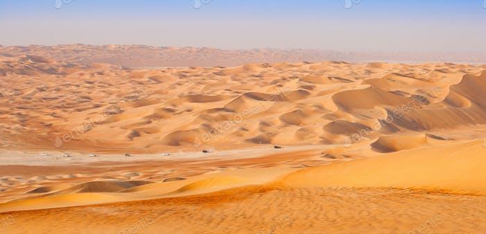 Empty Quarter Desert Convoy