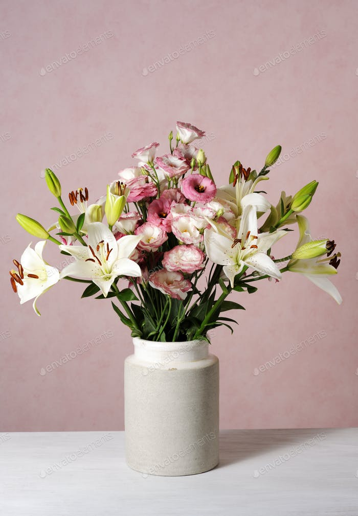elegant floral composition