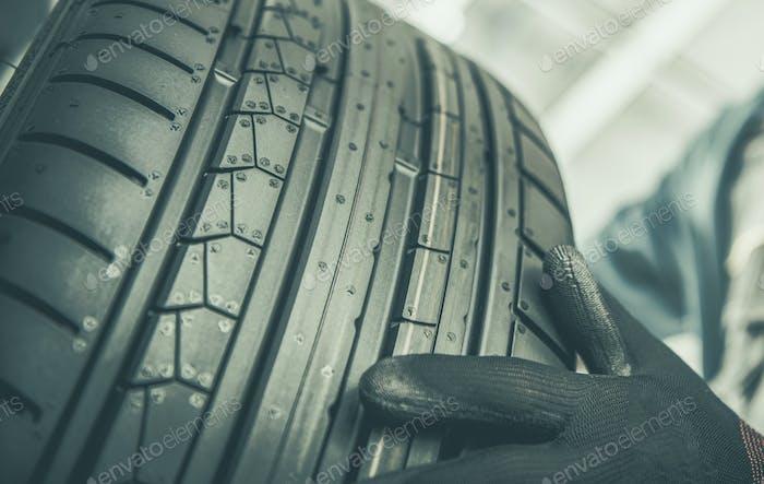 Brand New Summer Season Tire Tread