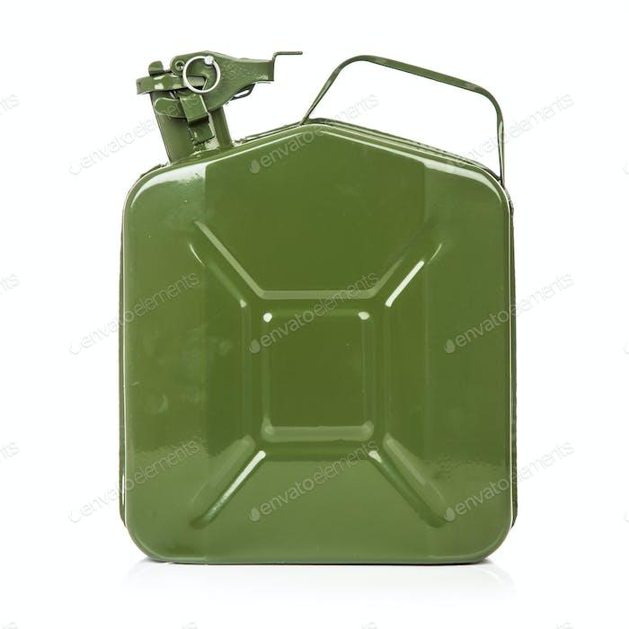 Grüne Kanister