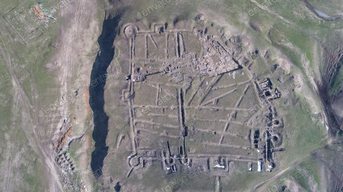 Ruinen der Festung Ulmetum, Rumänien