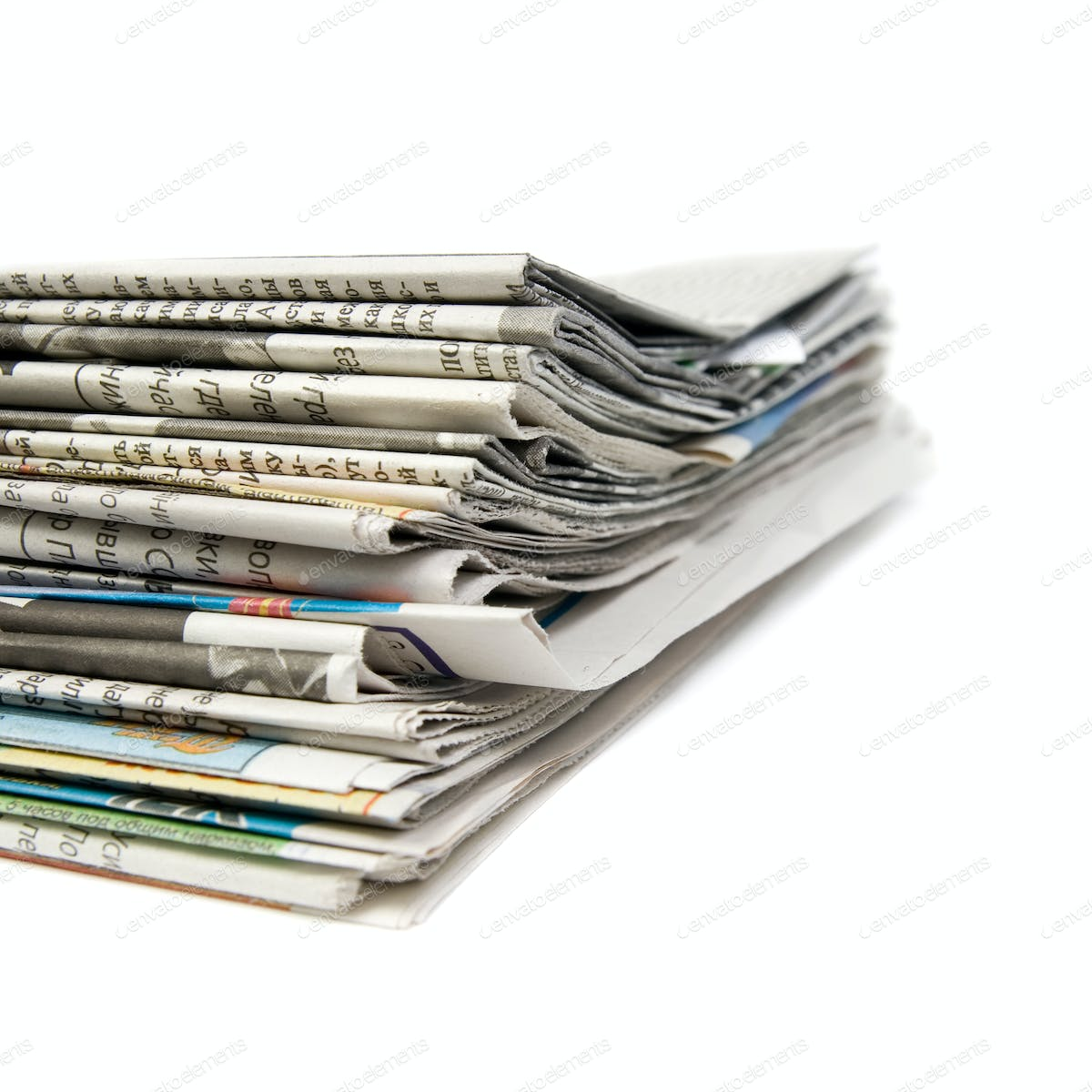 stack of newspapers photo by aleks_sg on envato elements
