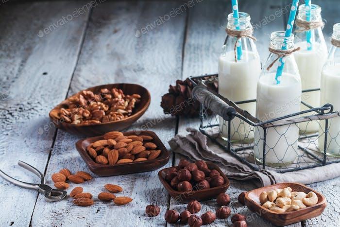 Vegan milk from nuts
