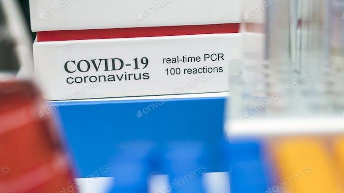 Novel coronavirus 2019 nCoV pcr diagnostics kit. This is RT-PCR kit