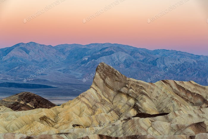 Early Morning Zabriskie Point