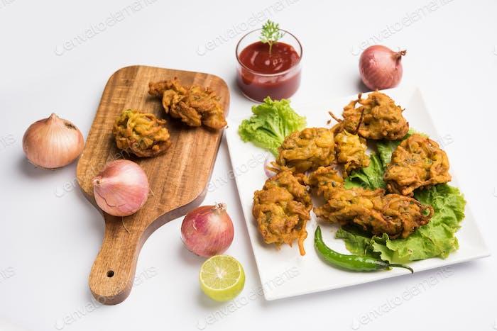 Onion Fritter / Pyaj Pakora