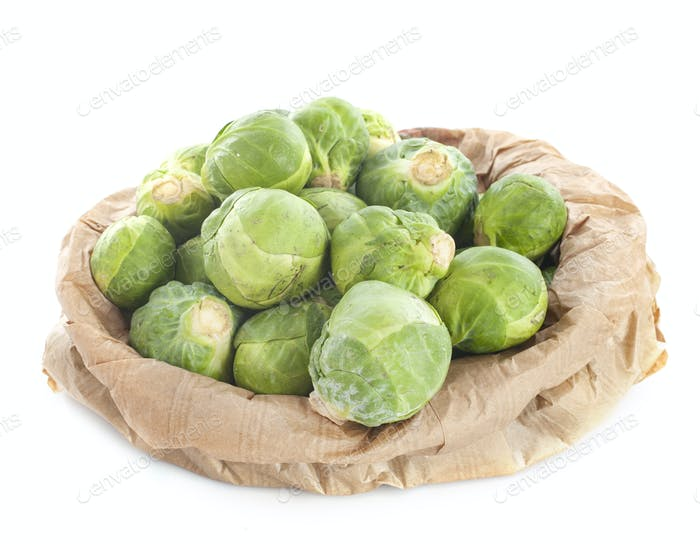 Brussels sprout  in studio