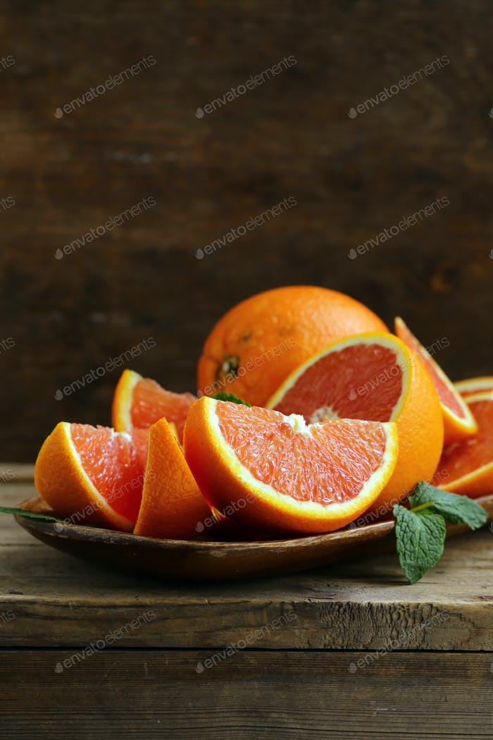 Ripe Organic Red Orange