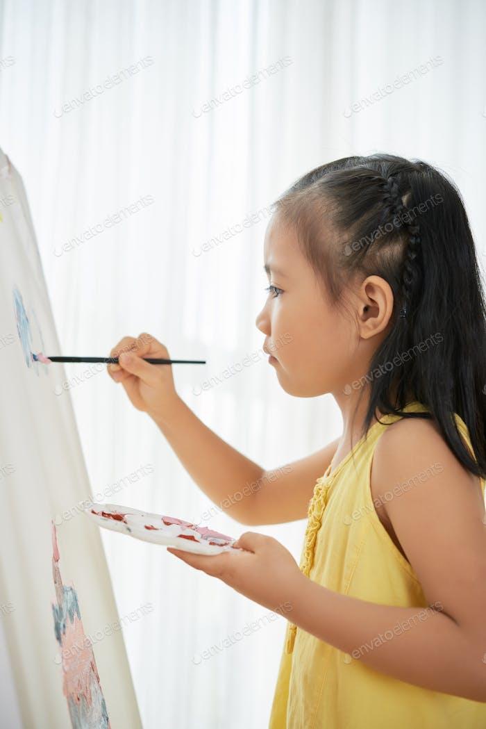 Künstlerisches Kind