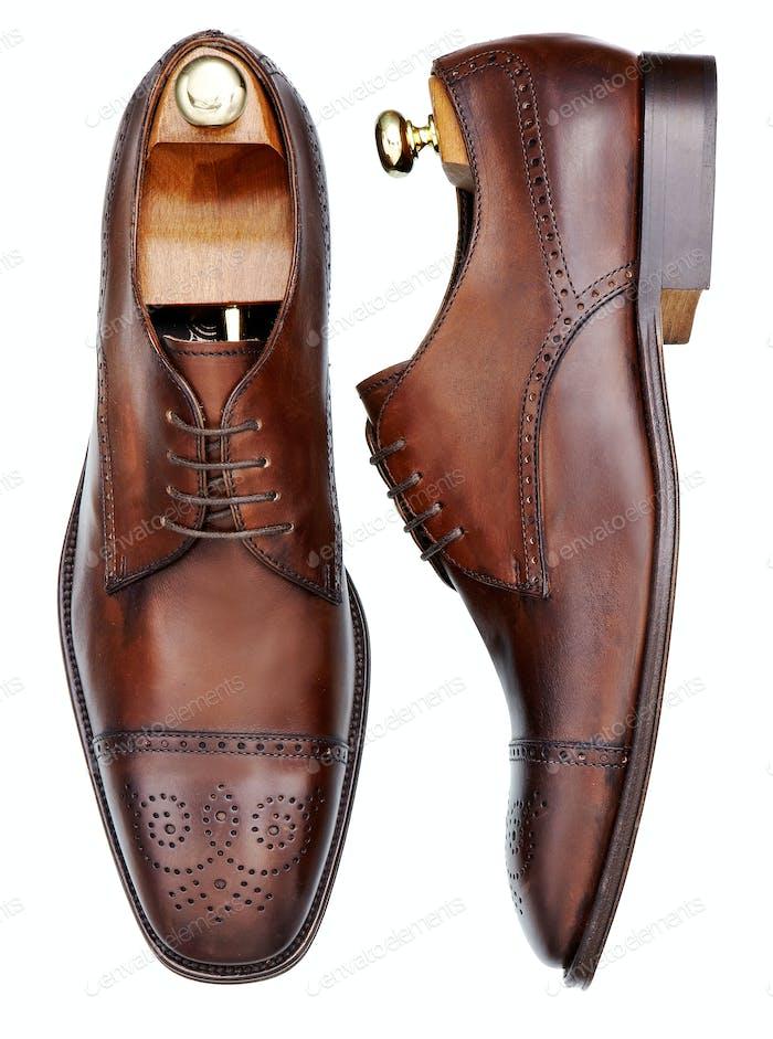 Elegant mens shoes