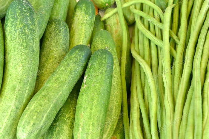 cucumber and Lentils