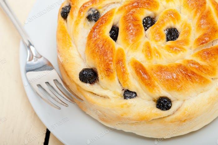 Heidelbeer-Brot Kuchen Dessert