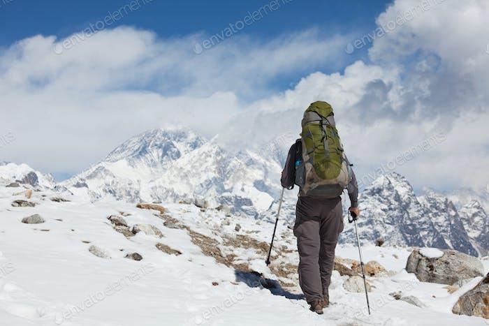 Randonnée dans l'Himalaya