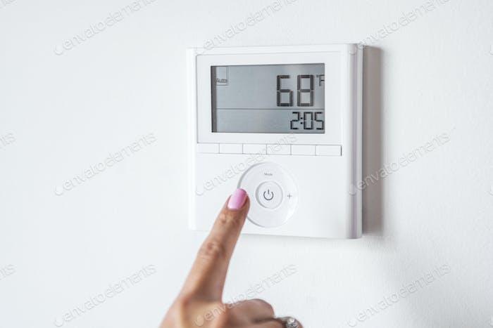 Temperature control in a smart home
