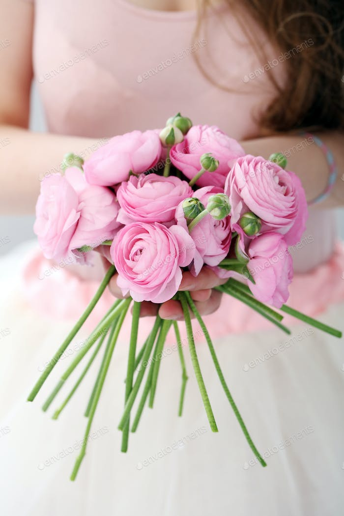 Beautiful bouquet on the table