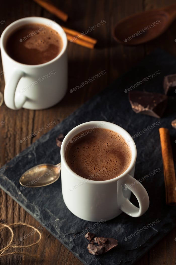 Homemade European Drinking Chocolate