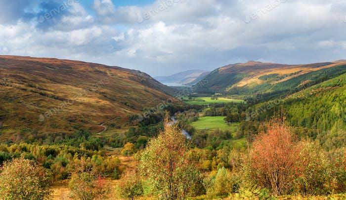 Autumn at Corrieshalloch Gorge
