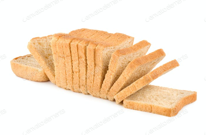 Fresh white bread