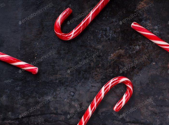 Christmas Red candy canes