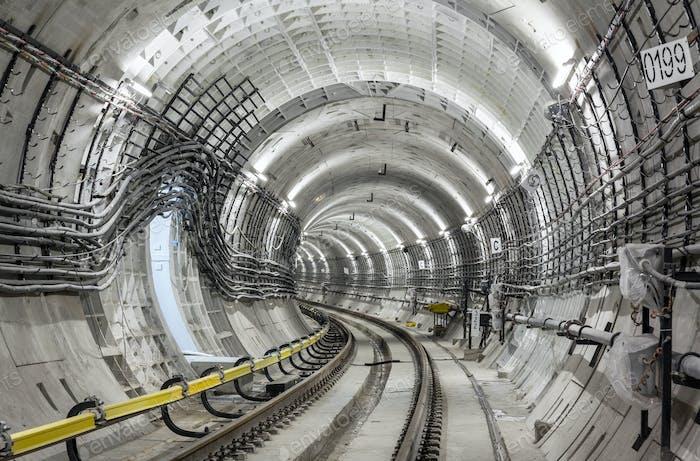Construcción del metro