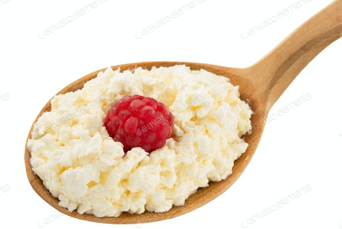 cottage cheese and berry