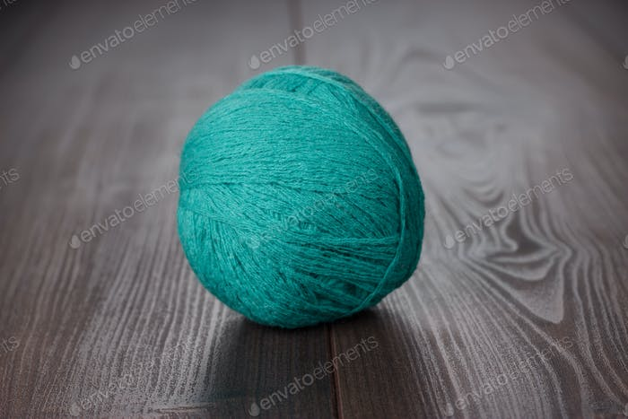 Knitting Ball Of Threads
