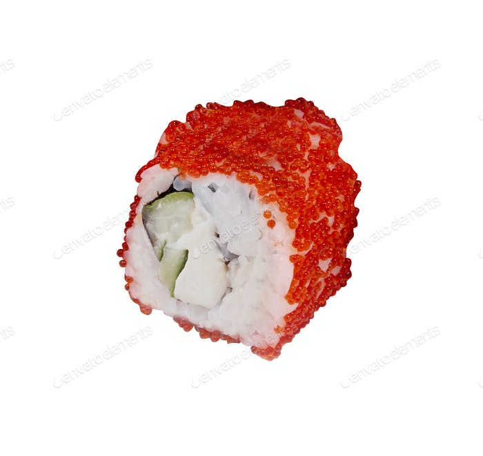 traditionelle frische japanische Sushi-Rolle