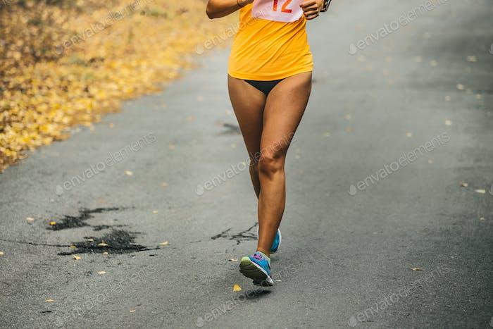 Mädchen Läufer