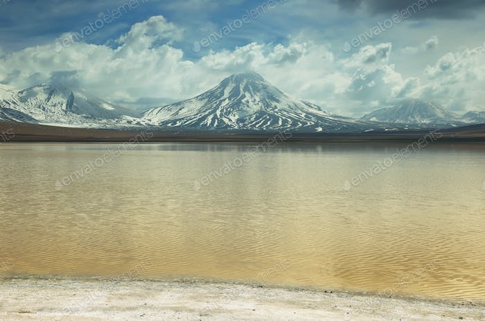 """Laguna lejia"" (bleach lake), chile"